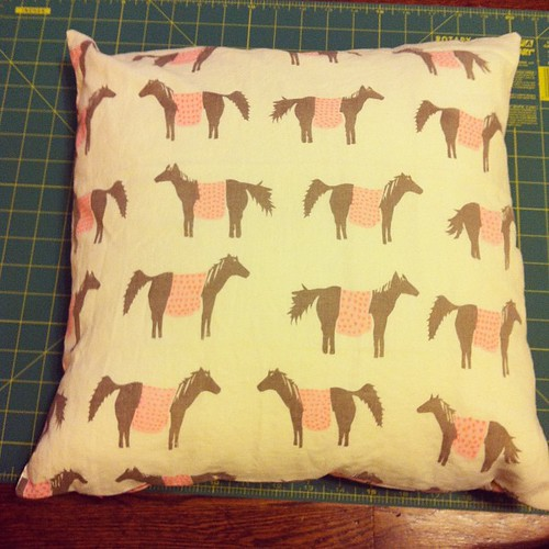 Pony pillow!