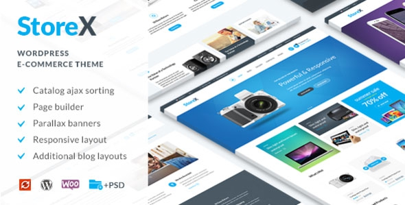 StoreX v1.4 - WordPress WooCommerce Electronics Theme