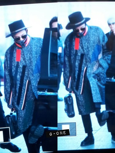 Big Bang - Gimpo Airport - 15jan2015 - G-Dragon - G-One - 01
