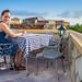 Rooftop Diner - Trinidad by peter.vanderpol