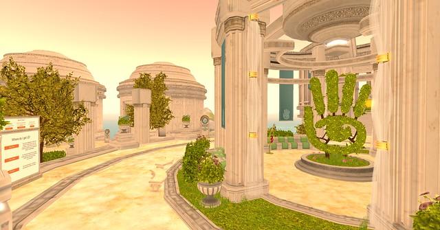 Second Life Social Island