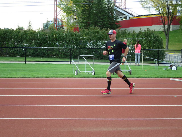 Jim Entering Track