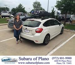 #HappyBirthday to Alicia from Trent Lofts at Subaru of Plano!