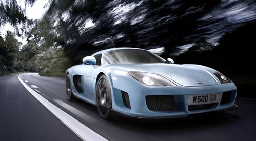 Noble M600: Superdeportivo Britanico con Chasis Multitubular