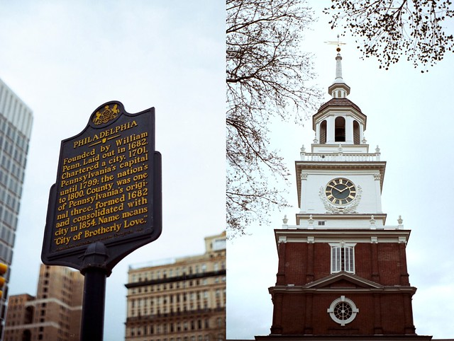 Philadelphia. Independence Hall.