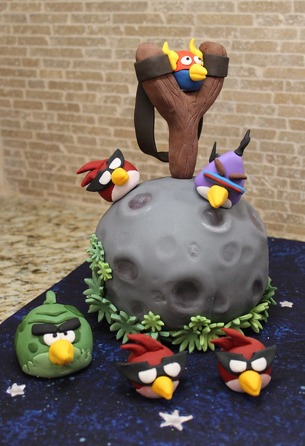 angry birds space cakes