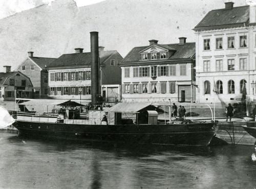 Steamer Prins Gustaf in Uppsala
