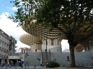 Aufstieg zu einer Sensation des Städtebaus: Espacio Parasol Sevilla