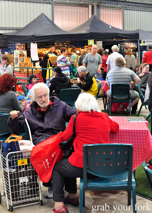 Inside Adelaide Showground Farmers Market