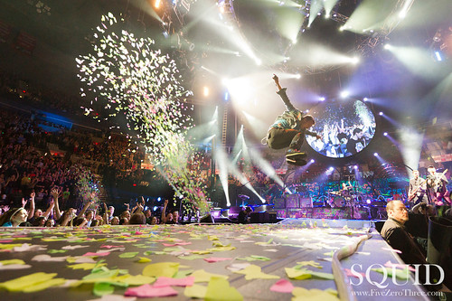 Coldplay at the Rose Garden