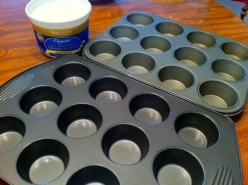 Prepare Muffin Tins