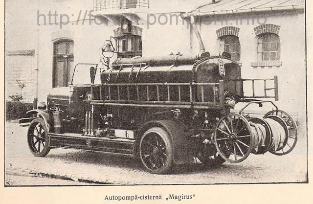 Autopompă cisternă Magirus