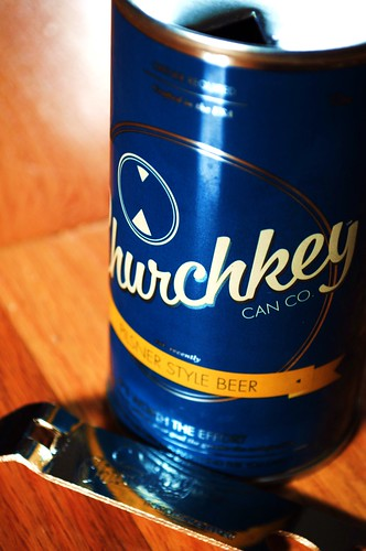 image of Churchkey Can Co. Pilsner, courtesy of our Flickr Page