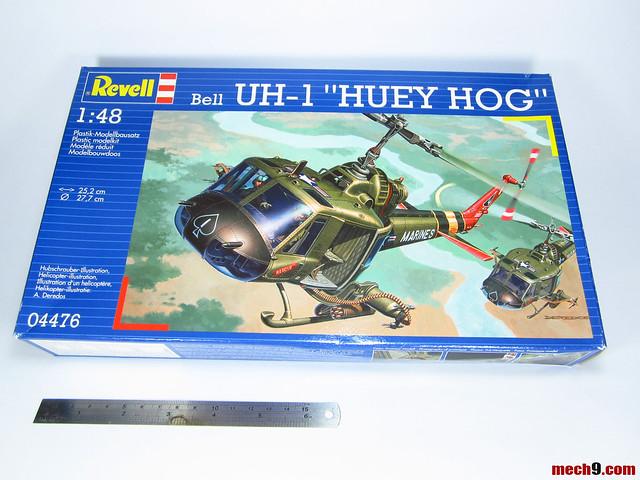 1/48 Revell/Monogram UH-1 Huey Hog