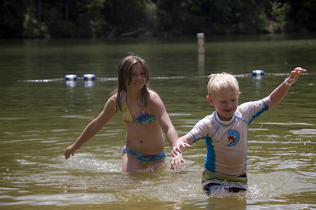 Fun in the sun and water at Hungry Mother State Park