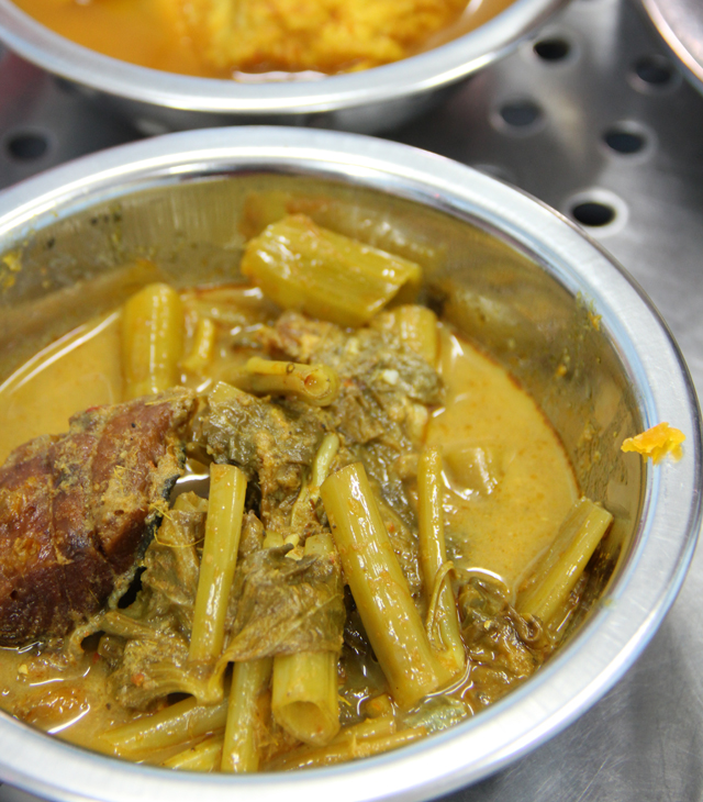 Gaeng Taypo (Fish Morning Glory Curry) แกงเทโพ