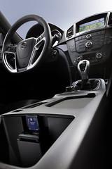 Audio- und Navigationseinheit im Opel Insignia