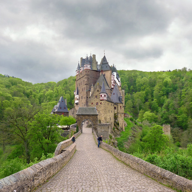 Gateway to Eltz Castle