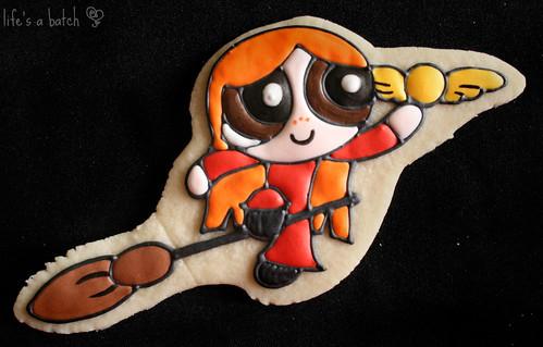 Ginny Weasley Potterpuff Cookie.