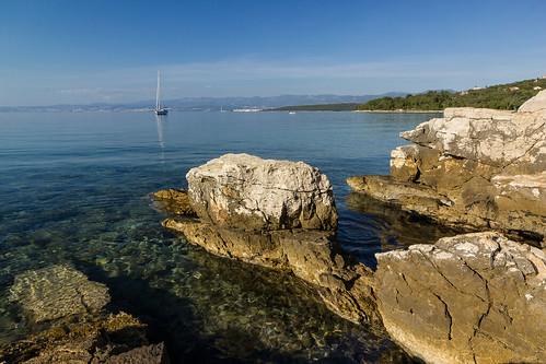 travel sea summer art nature canon photography boot boat meer europe stones sommer urlaub croatia steine shore ferien schiff kroatien istrien