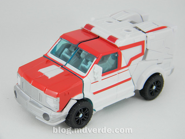 Transformers Ratchet Deluxe - Prime RID - modo alterno