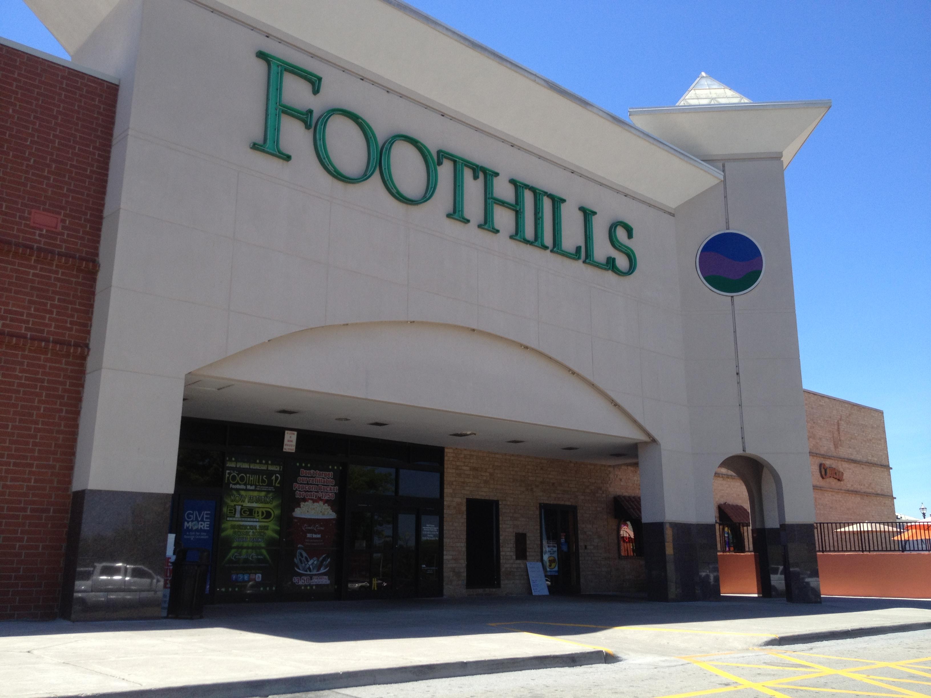 Suburban regional shopping malls
