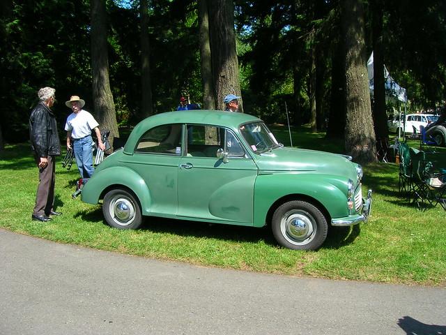 All British Car Show Van Dusen
