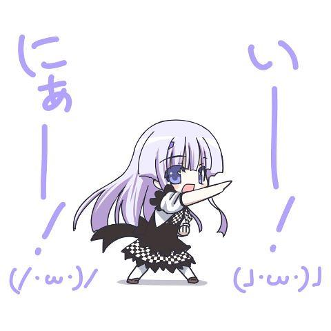 120526(1) - 漫畫家「蒔島梓」心血來潮,獻上《 Total Eclipse》與《這いよれ!ニャル子さん》的夢幻合作動畫! (1/2)