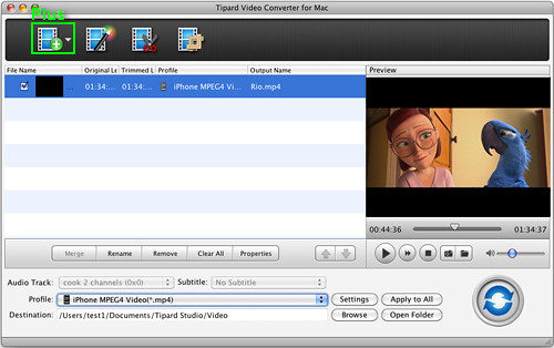 How to convert video to iPod/PSP/MP4/MP3/3GP on Mac? 7271133722_d1f84126e8