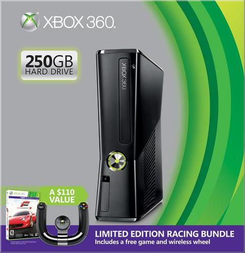 Xbox 360 250GB Racing Bundle