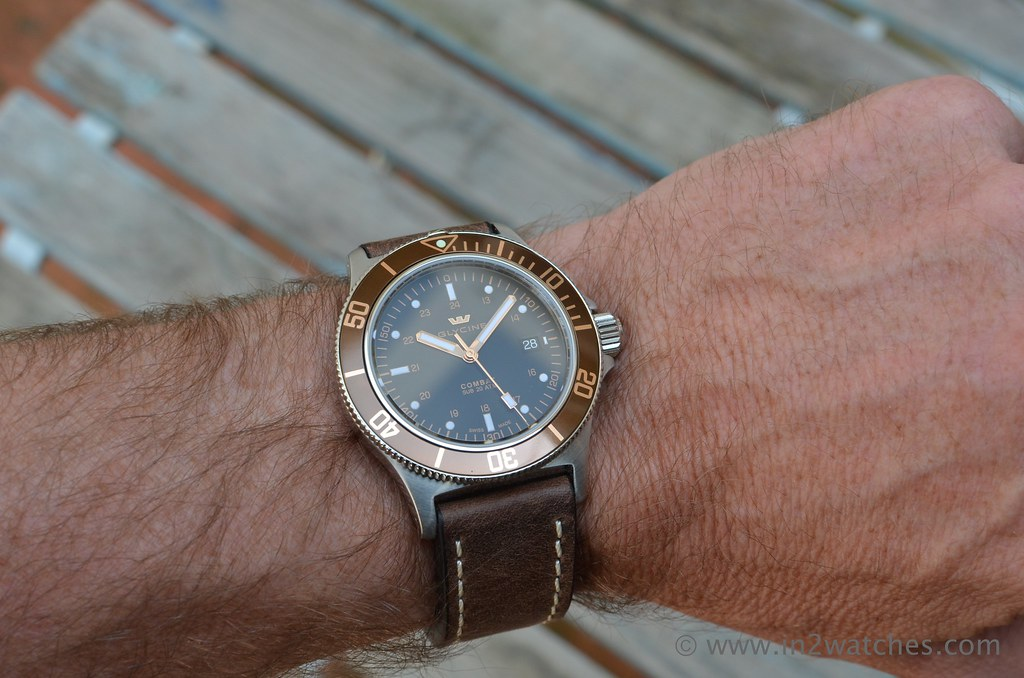 Glycine Combat SUB in2watches.com edition