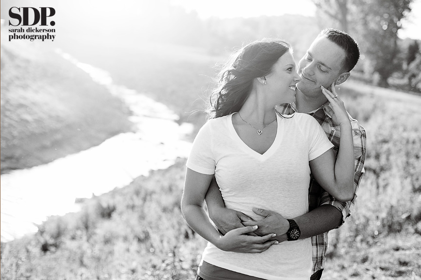 Parkville Missouri engagement photographers