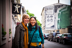 Carla and Glo in Berlin