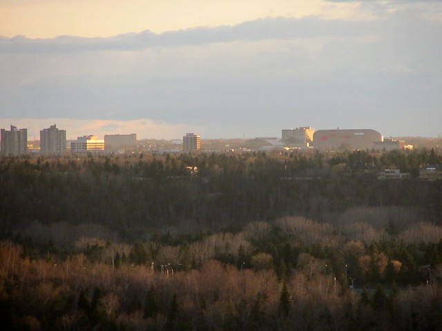 Extreme Zoom view of the West Edmonton Mall