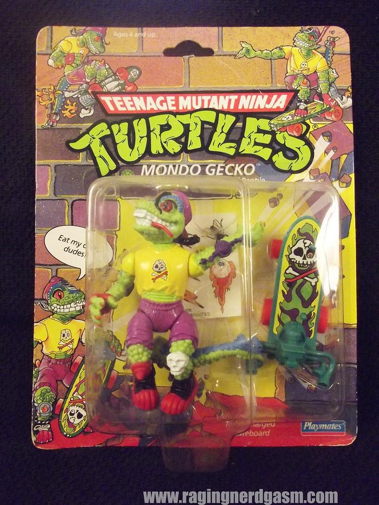 Mondo Gecko from Teenage Mutant Ninja Turtles by Playmates