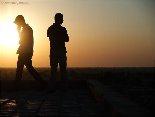 people asia uzbekistan khiva ichankala
