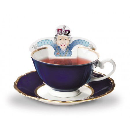 RoyalTea Novelty Regal #Tea Bags and Greeting Card from Donkey Products GmbH