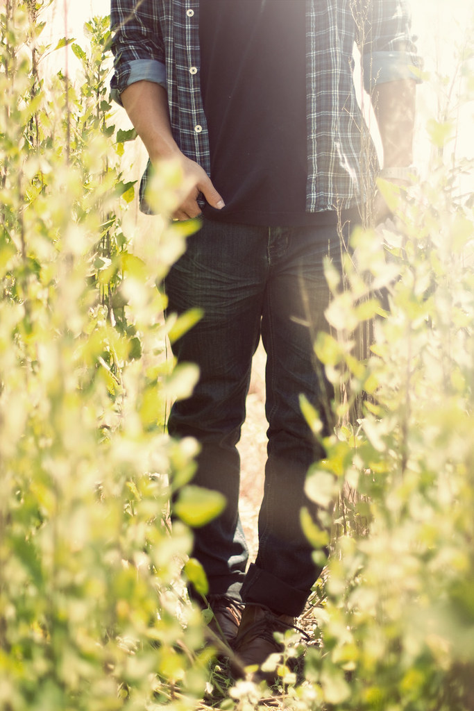 Aaron in the Tall Grass
