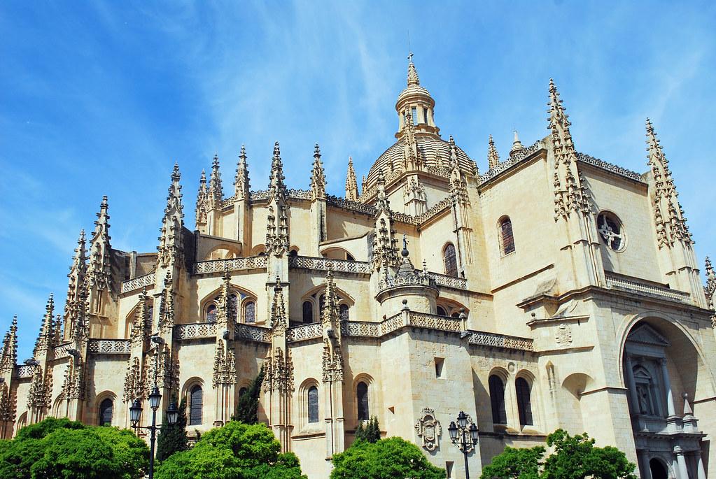 Segovia Cathedral, Segovia, Castilla y León, Spain