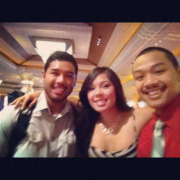 My buddies for the night. @fresh2death209 and @russ3lg. Lol idk what we gonna do!