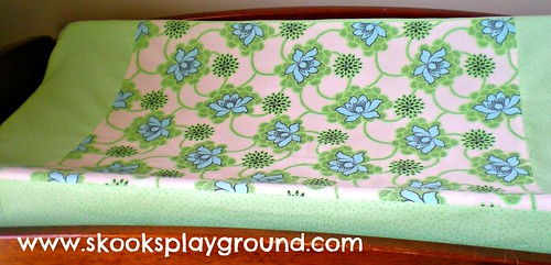 Daisy Chain Changing Pad Cover