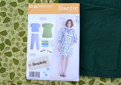 Lisette Portfolio Muslin Fabric
