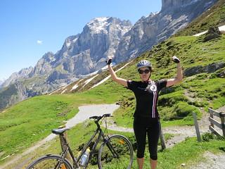 Success:  top of Grosse Scheidegg