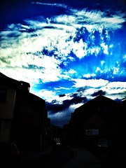 The heaven over #Eisenach. #today