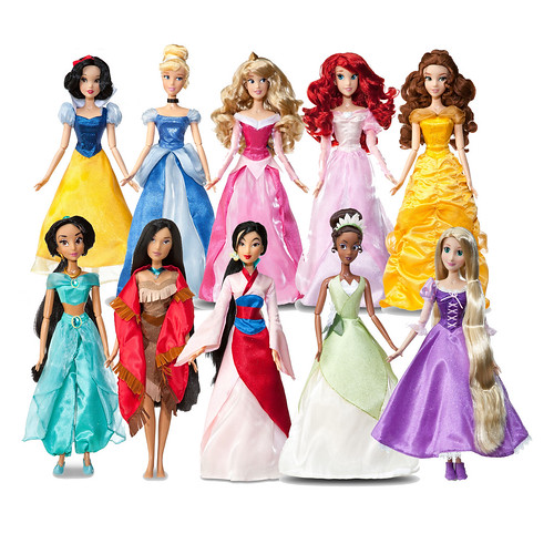 Disney Princess Cinderella Singing Doll And Costume Set: Disney Store New-Style Singing Dolls 2012 [ Preview