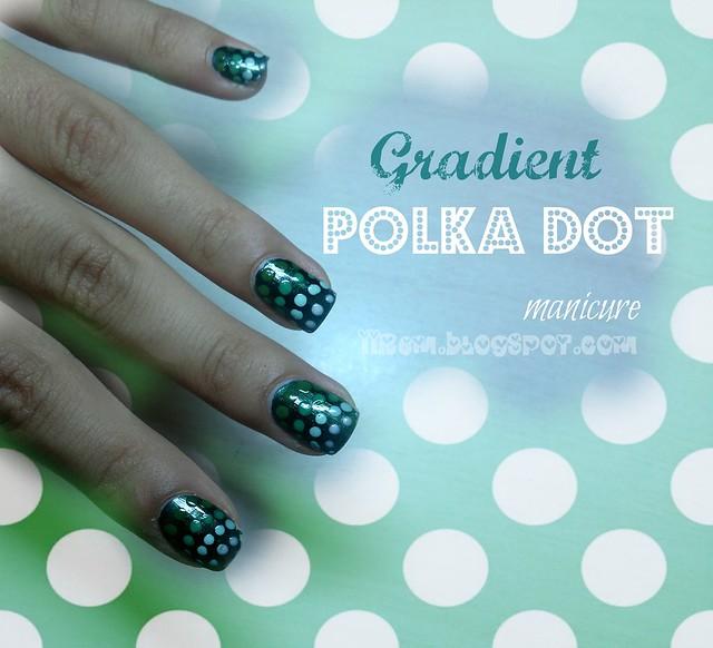 Gradient Polka-Dot Manicure (3)
