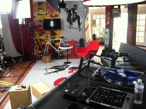 """Stunt Nation"" Shoots in Venice with Host Sal Masekela"