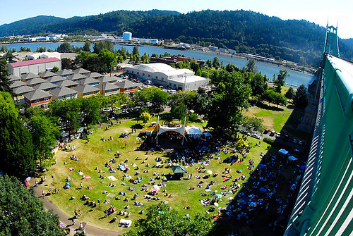Cathedral Park Jazz Festival 2010