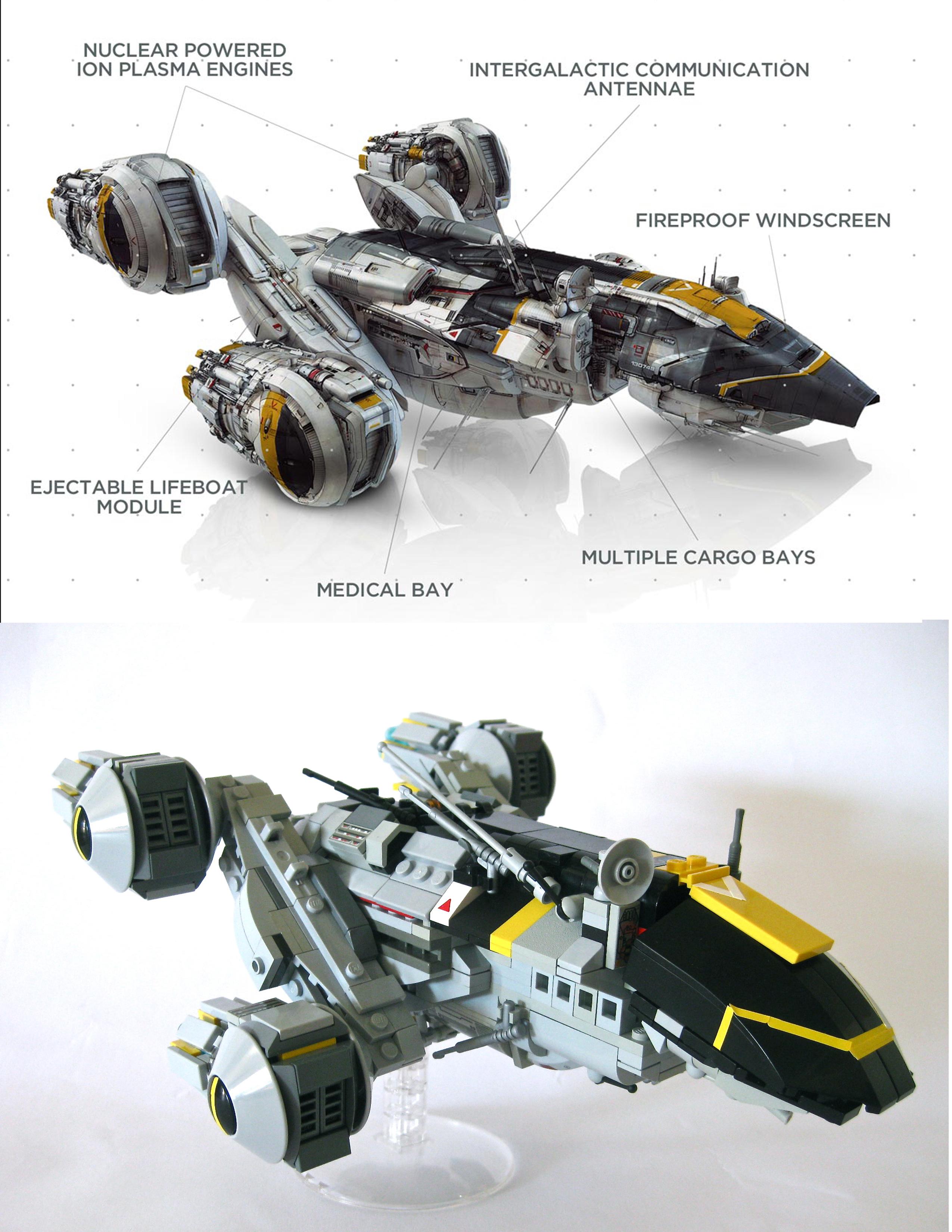 Prometheus LEGO