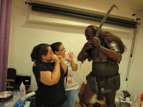 Caracterización de un Uruk Hai by Rebeca_Rodriguez